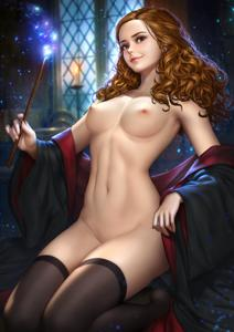 Hermione with her perfect body  should I post more Wanda, chel, Hermione, or Zelda?