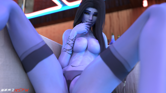 Widowmaker in Lingerie
