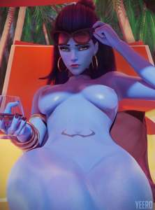 Widowmaker beach nude