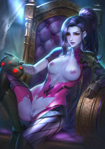 Widowmaker is hot as always