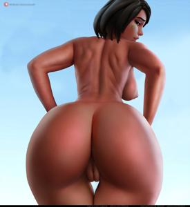 Pharah butt