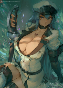 A chaotic ice queen:Esdeath dont you dare mock her man!