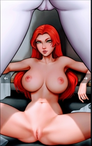 Starfire's view of Raven must be godly