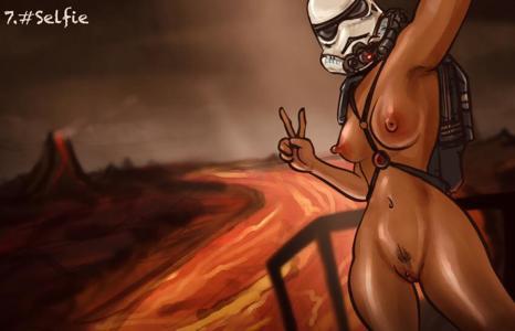 Magma Trooper on vacation on Mustafar