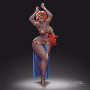 Belly dance Urbosa