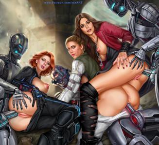 Natasha, Yelena & Wanda succumb to Ultron
