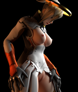 I'll try and do more renders of Mercy