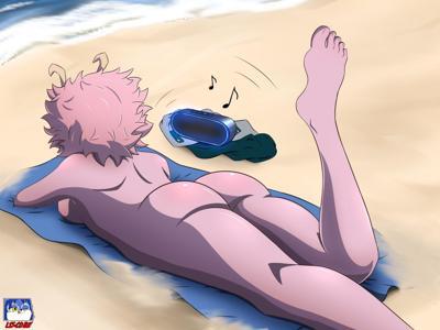 Mina Ashido ass