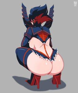 Ryuko High Heels Booty