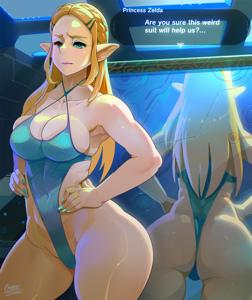 Yes Princess Zelda we're sure