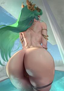 Palutena's fat ass