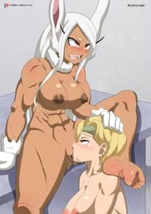Mirko x Ryukyu - dragon's turn to eat the rabbit