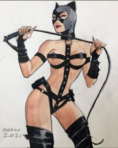 Selina Kyle. Catwoman.