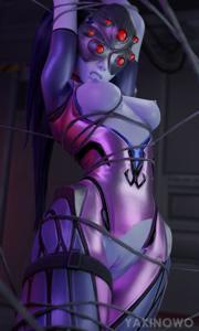 Widowmaker in a trap