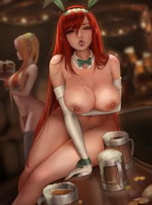 Your waitress got horny and decided to take some time off with you
