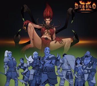 Andariel stars in Diablo II: R-rated