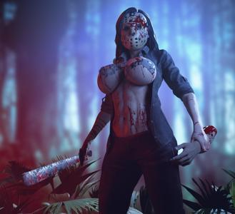 Tifa as Jason,