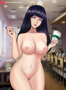 Mommy Hinata serves you coffee like this. Do you accept?
