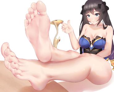 Mona's Bare Legs and Feet