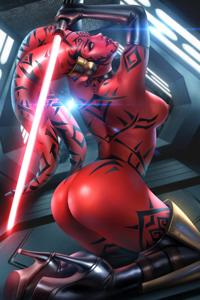 Darth Talon is ready to show you the way of the Sith